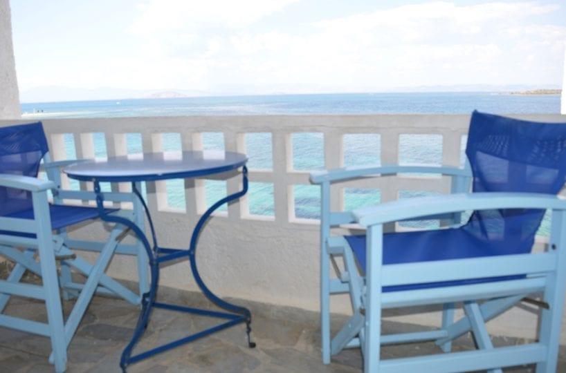 beachfront holiday studio