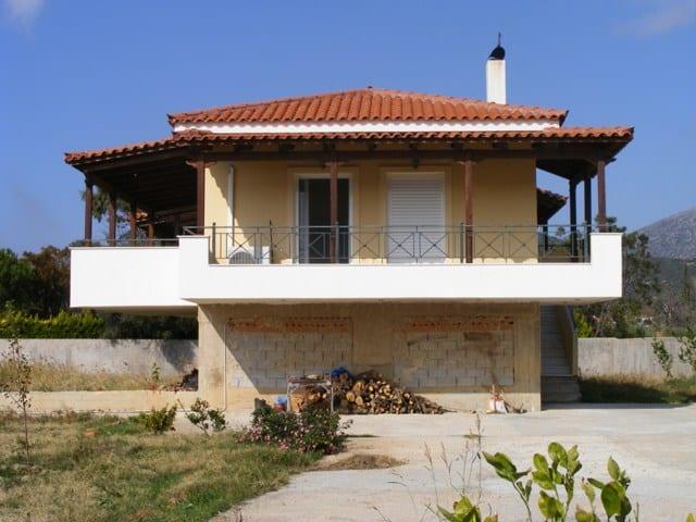 Evia beachfront villa for sale