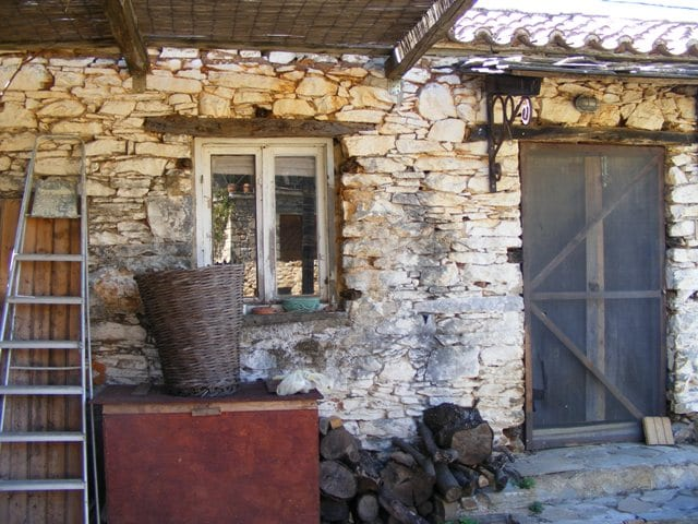 Evia renovated house for sale at Koskina