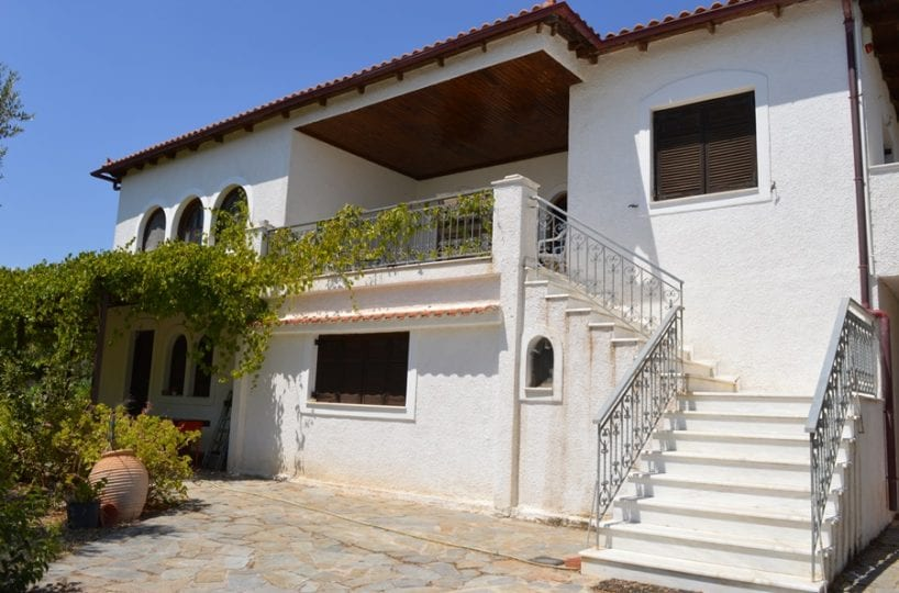 luxury villa for sale on Evia