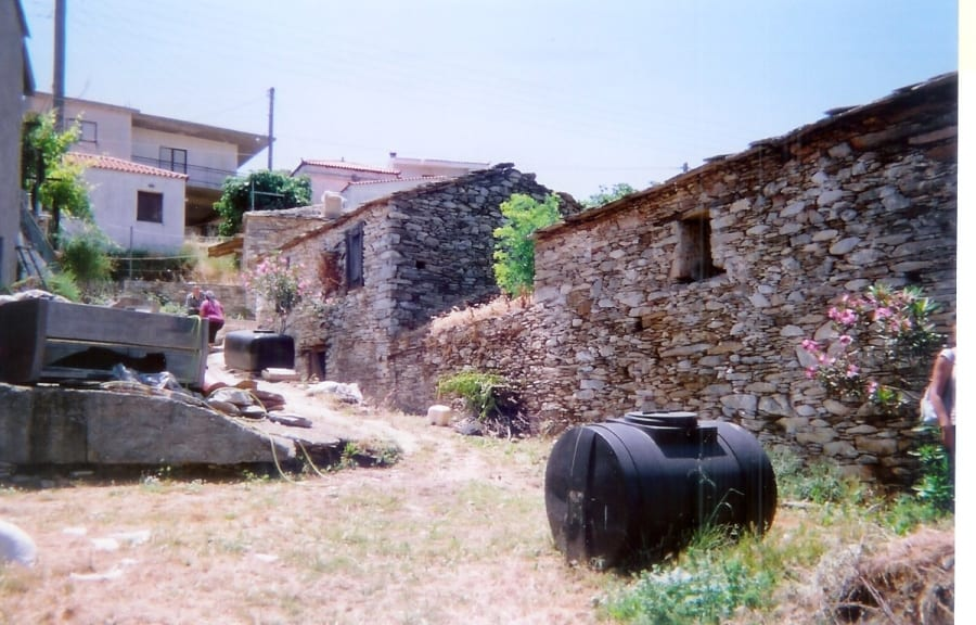 Evia Koskina land and derelict outbuildings