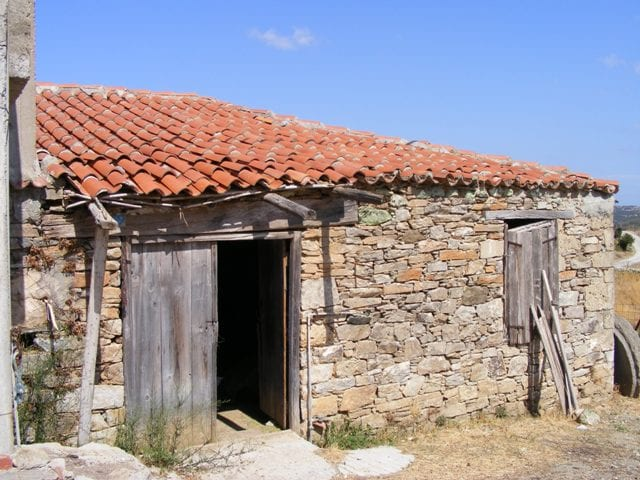 restoration property on Evia