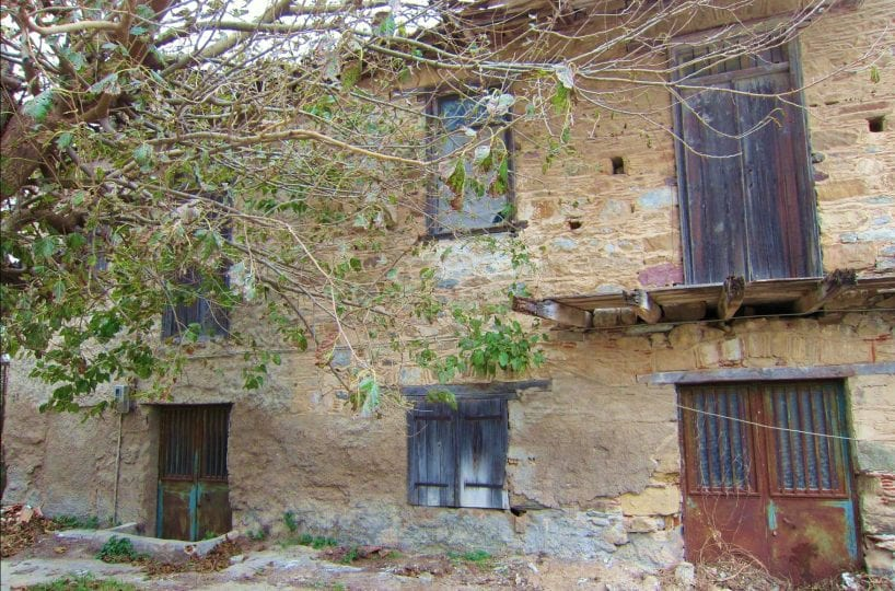 Evia old stone renovation house near beach