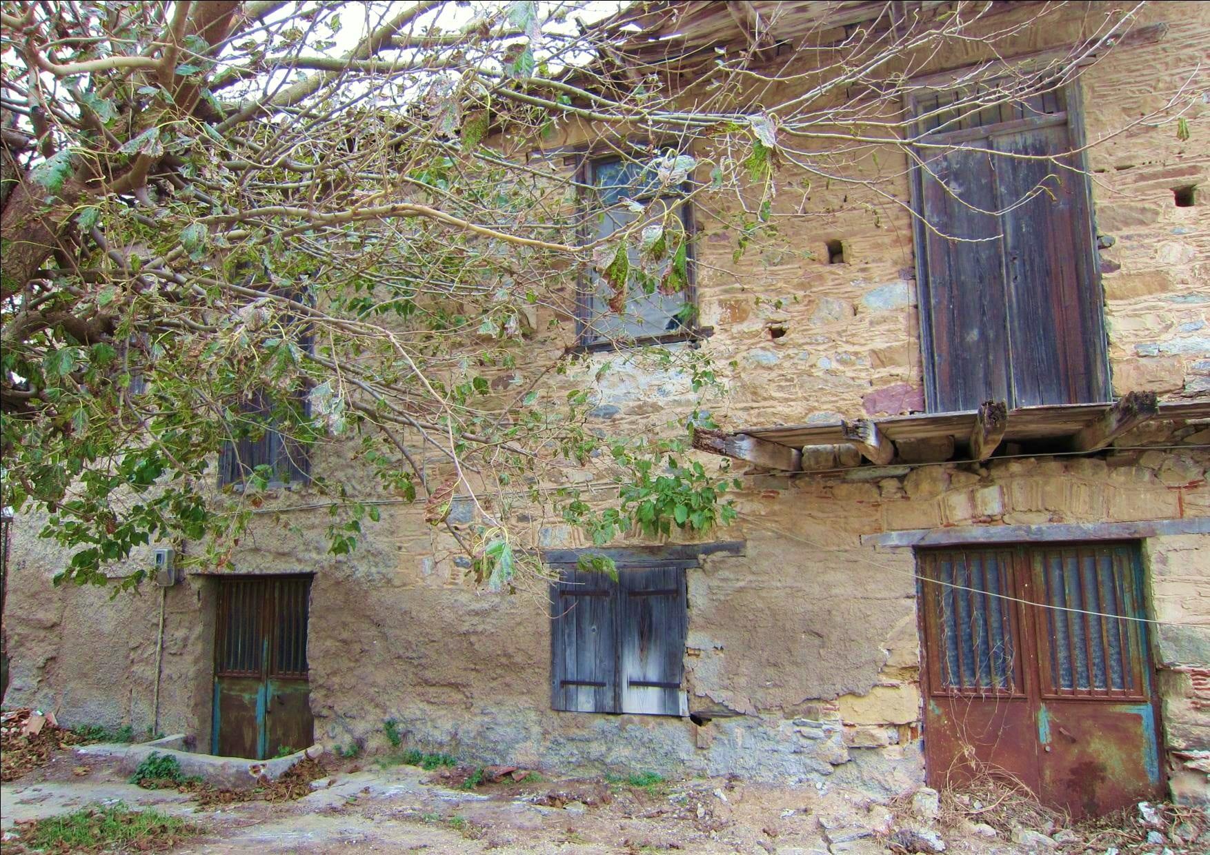 Evia old stone renovation house near beach