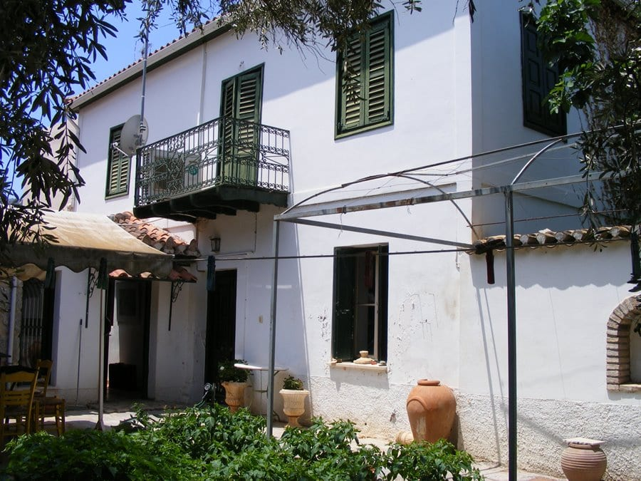 Galaxidi house for sale on Gulf of Corinth