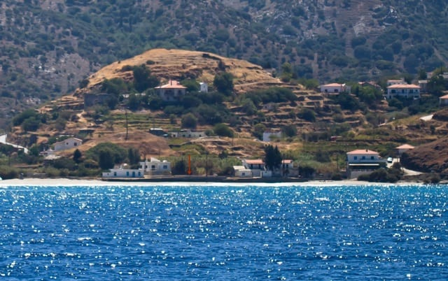 Ikaria beachfront building land