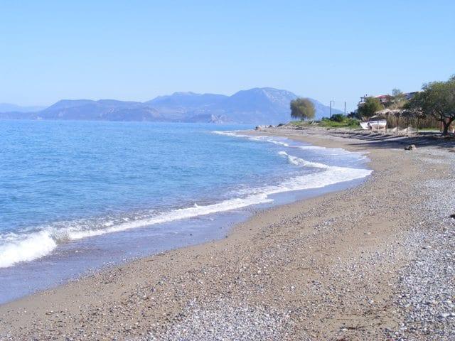 villa at Kiato on the Gulf of Corinth