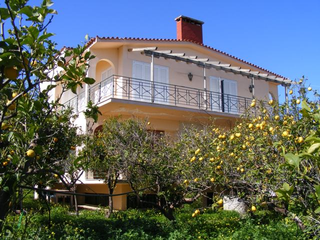 villa at Kiato on the Gulf of Corinth