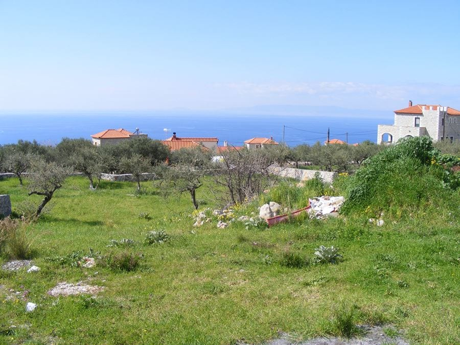 building land for sale near Stoupa