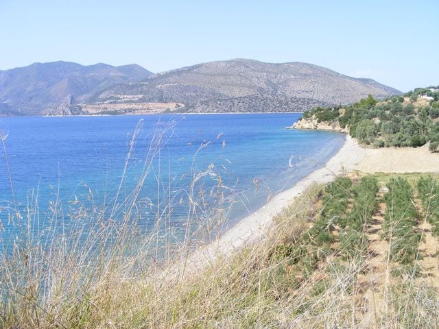 Peloponnese beachfront land