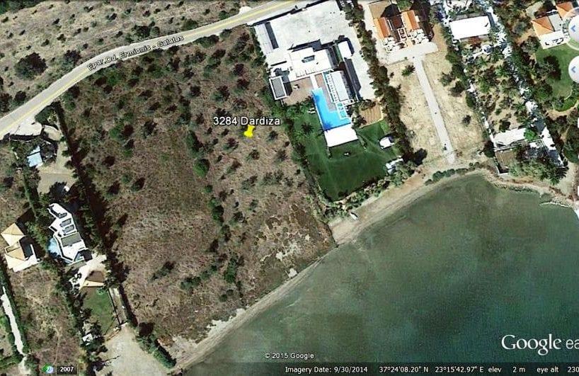 Ermioni beachfront building plot