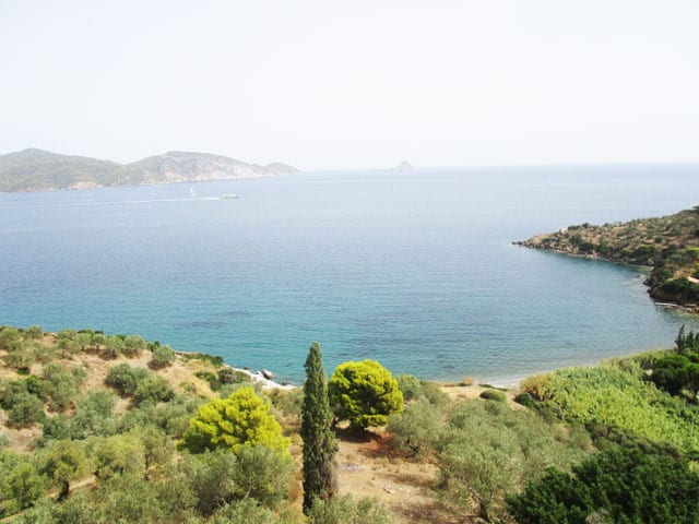 Galatas beachfront development land