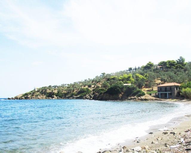 Galatas beachfront development land