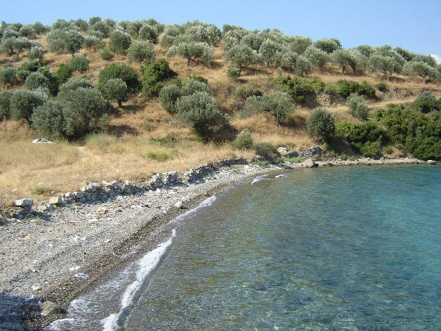 Galatas Taktikopouli large beachfront plot