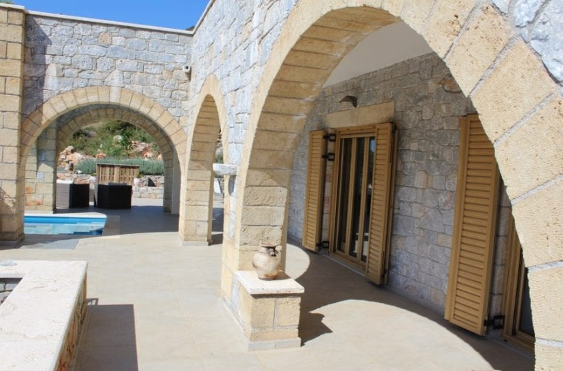 luxury villa for sale in Messinian Mani