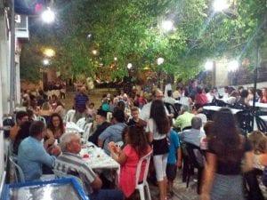 Samos village house