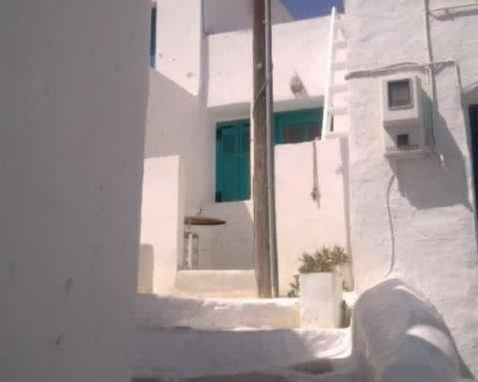 Cycladic island house