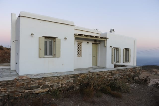 tinos villa for sale