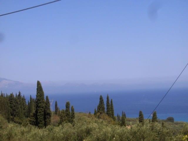 zakynthos modern house sea views
