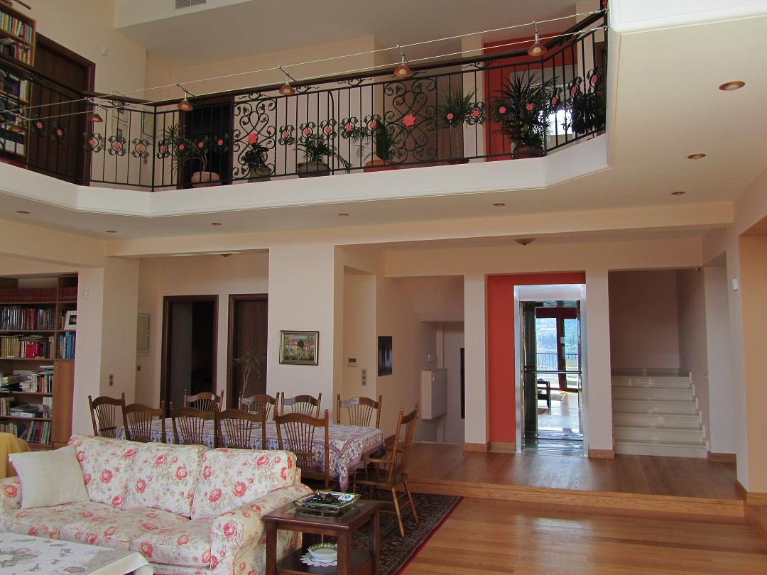gulf of Corinth a beachfront villa