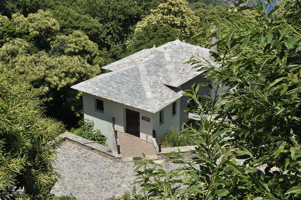woodland villa in Pelion