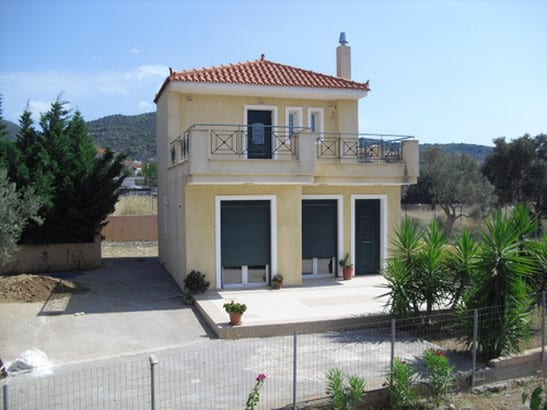 Evia villa near the sea