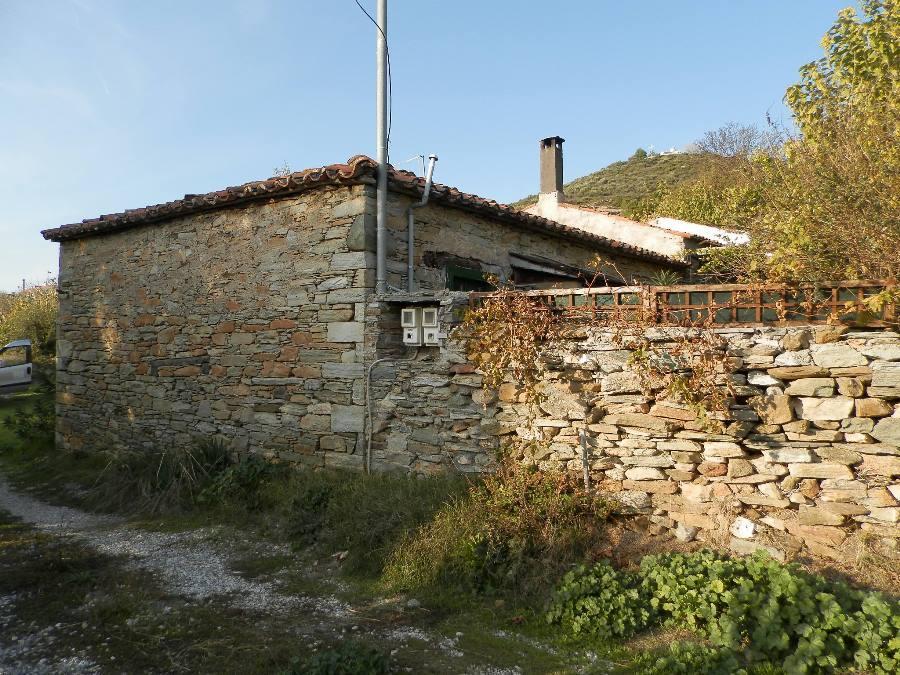 Evia renovated stone house