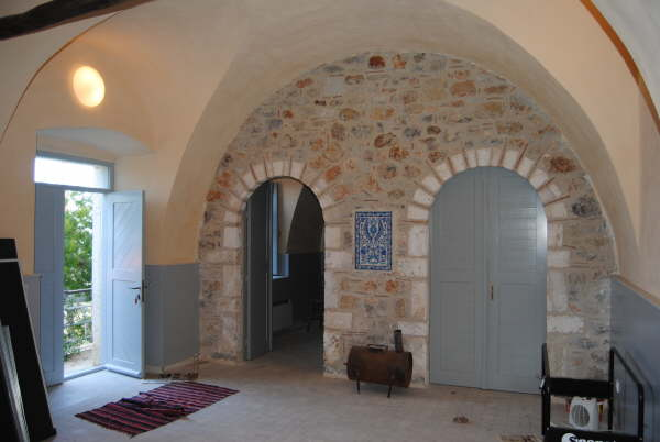 renovated stone villa nr. Tyros
