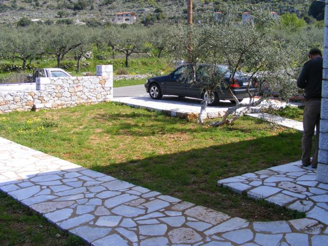 Peloponnese new stone detached villa