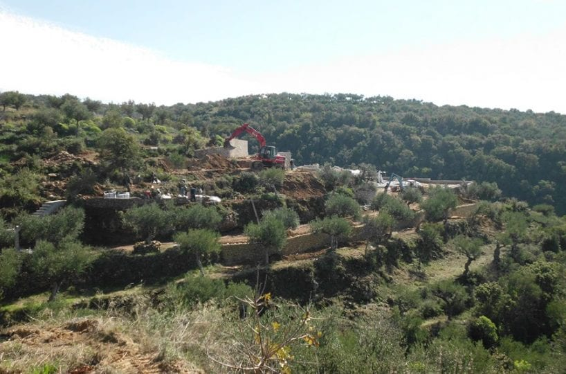 Mani Kardamili development land