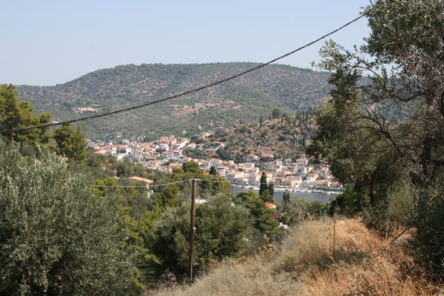 Galatas building land for sale