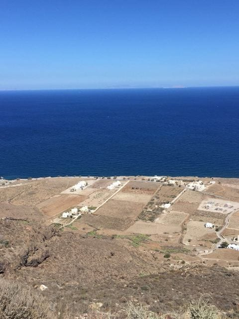 Santorini beachfront building land
