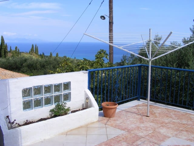 zakynthos modern house sea views