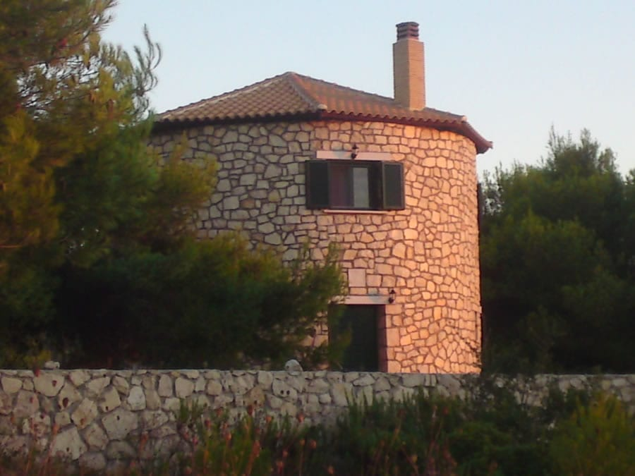Zakynthos windmill house