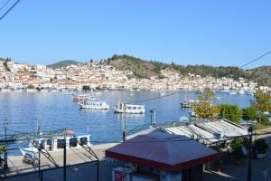 seafront hotel for sale opposite Poros