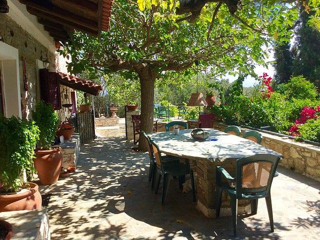 Evia Raptai stone villa for sale