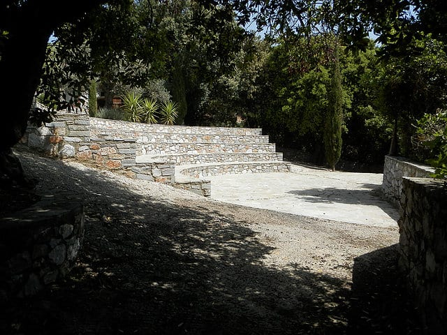 Evia Raptai stone villa for sale