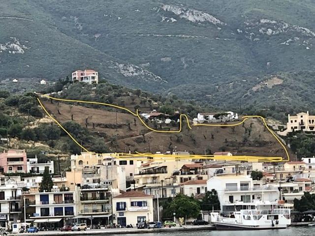 Galatas building land