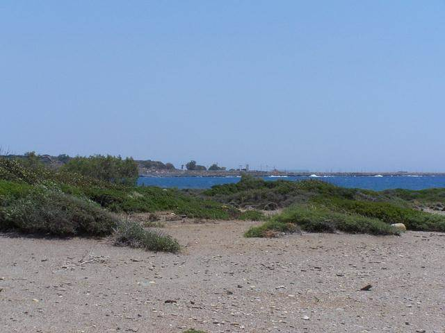 Beachfront plot of land in Chania Crete for sale