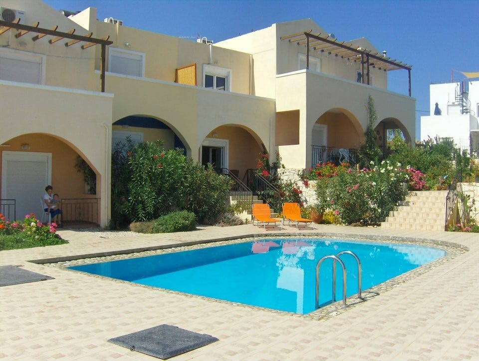 HOUSE IN AKROTIRI CHANIA CRETE 95,000Euro 2 bedrooms 67sm This house in Akrotiri Chania Crete for sale, on the island of Crete, is located in a quiet neighborhood in the village of Chorafakia. It is part of a small development, arranged over 2 floors with a total living space of 67sqms. The ground floor consists of an