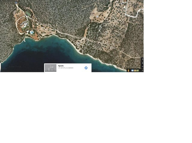 Salandi beachfront development land