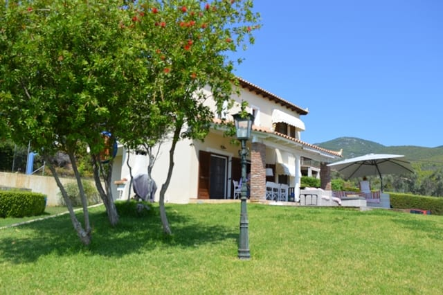 Evia secluded luxury villa