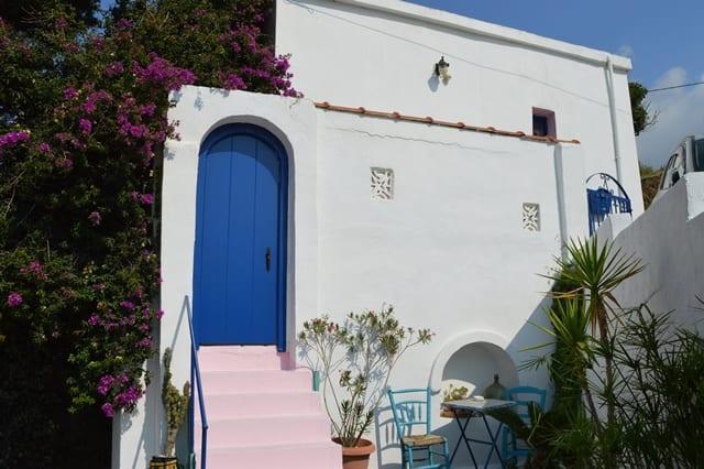 Karystos old stone house