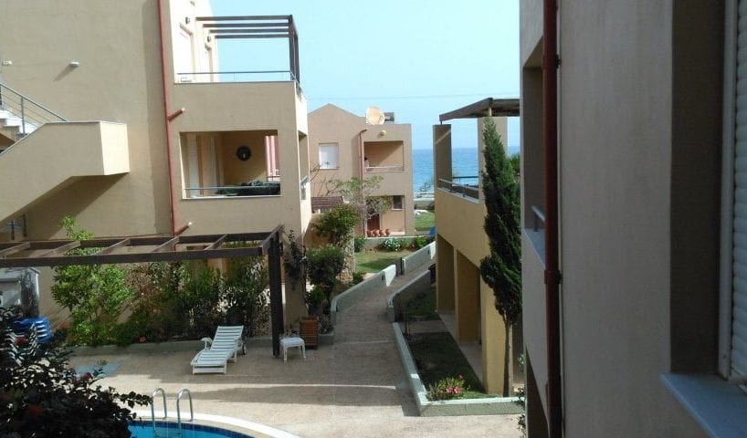 Maleme beachfront apartment