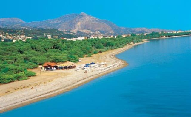 Beachfront holiday cottage Corinth
