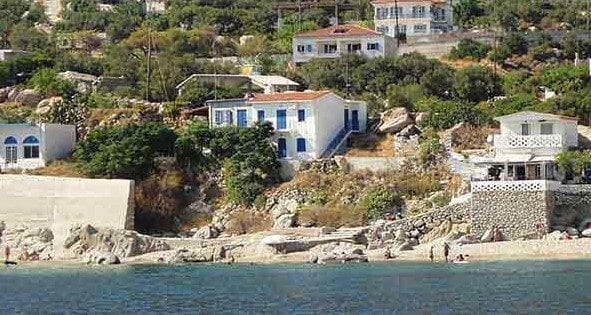 beachfront holiday home Ikaria