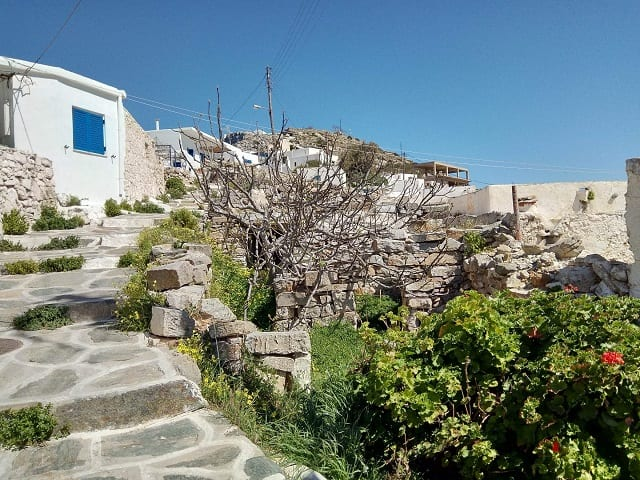 CYCLADES OLD STONE RENOVATION, SIKINOS